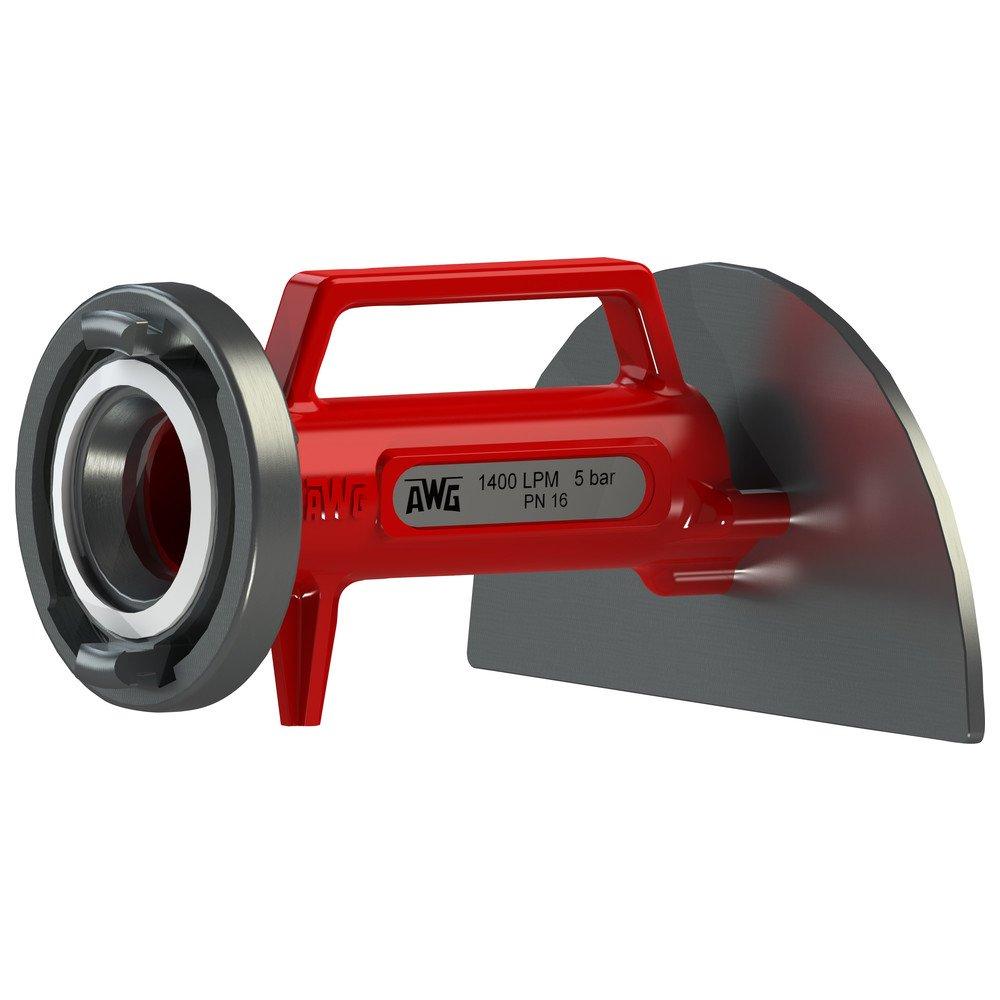 Pompier Plaque d'eau Taille L 240 x 260 x 135 mm