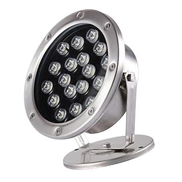 Lumière Magideal Lampe Torche D'étang Piscine Led 18w Extérieur De TKlucFJ315