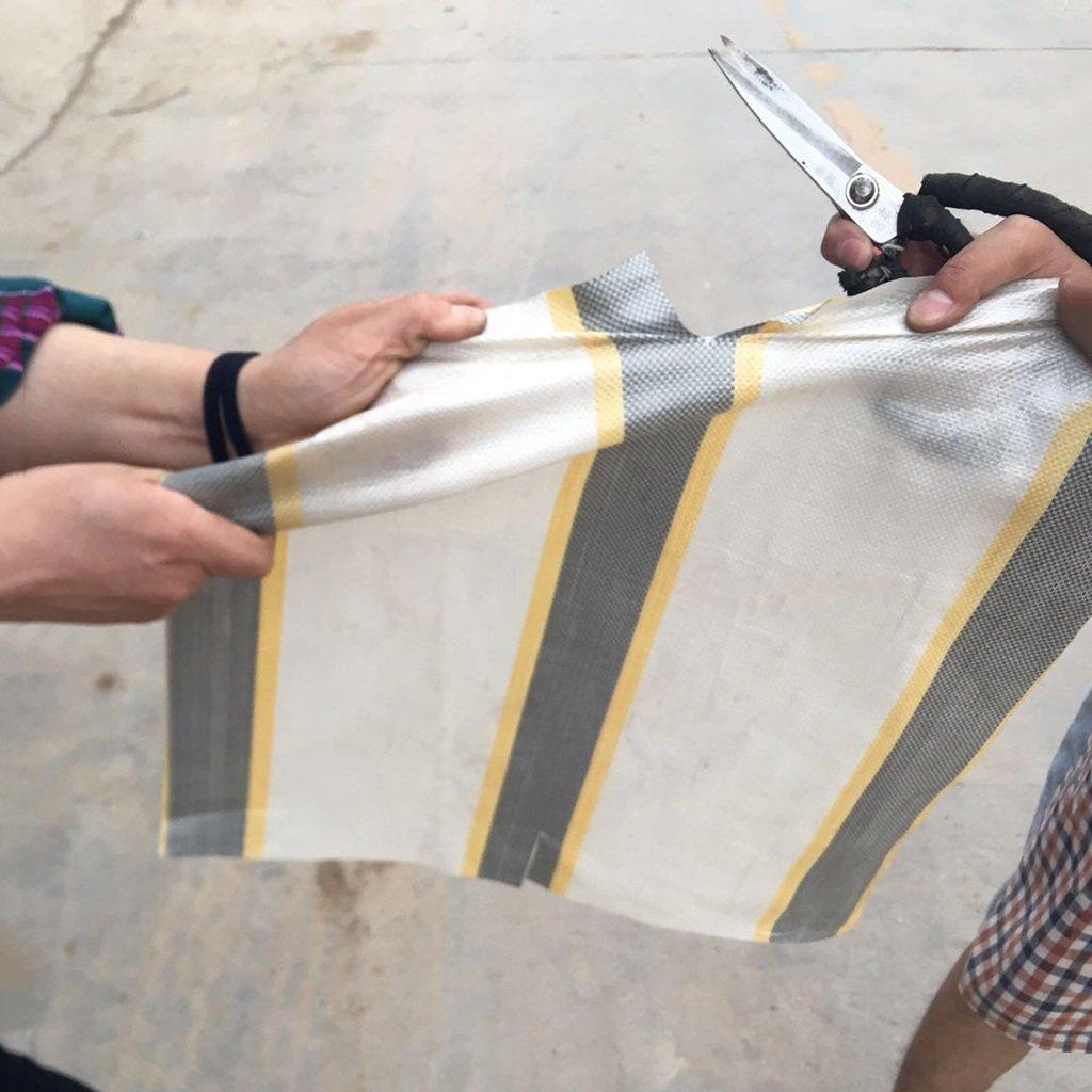 ZCCPB Tela a Prueba de de de Lluvia Impermeable Lona de protección Solar Acolchado Tiras de Tela de Tela Tejida Tela de plástico de Tela Tejida Flor de Poncho Flor de Lona de la Flor (Tamaño : 3  3m) e37834