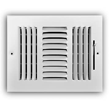 Amazon com: Everbilt 8 in  x 6 in  3-Way Wall/Ceiling