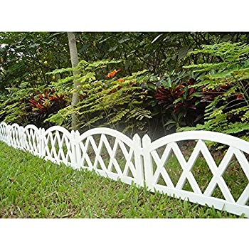 Amazon Com Worth Garden Plastic Fence Pickets Indoor