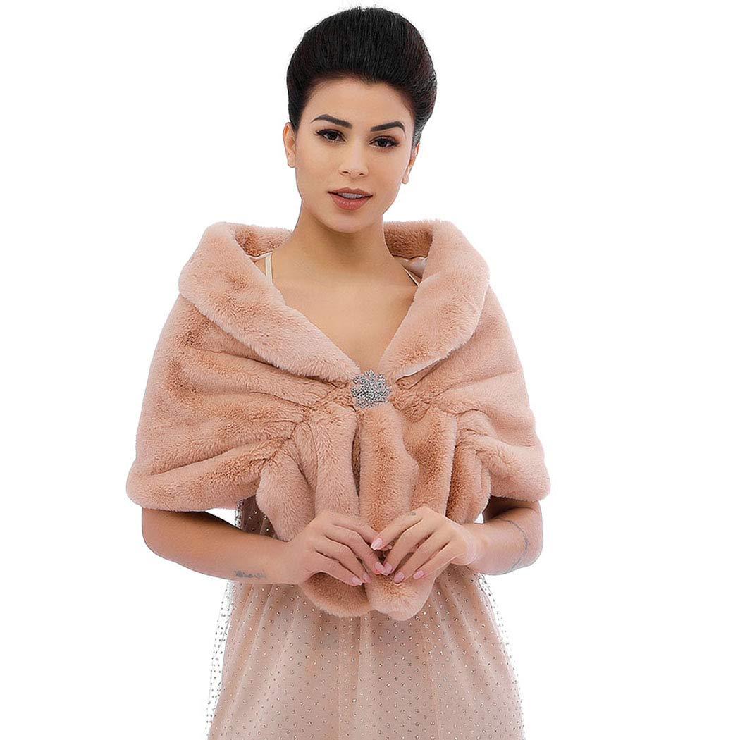 Victray Sleeveless Faux Fur...