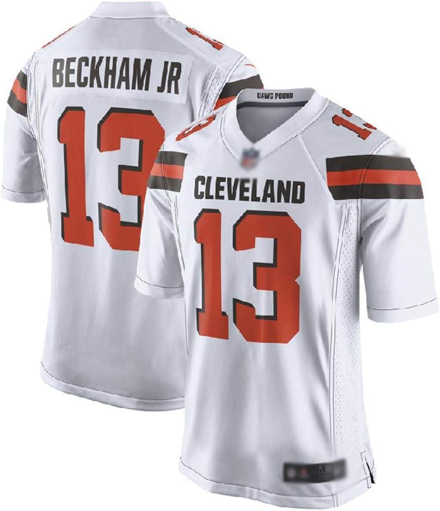 JUNBABY Camiseta De Rugby, Cleveland Browns 13# Beckham Jr, Partido De FúTbol Hombres Camiseta NiñOs: Amazon.es: Deportes y aire libre