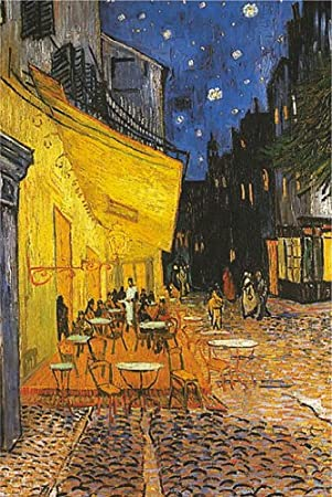 Amazon De Poster Vincent Van Gogh Terrasse De Cafe Grosse 61 X