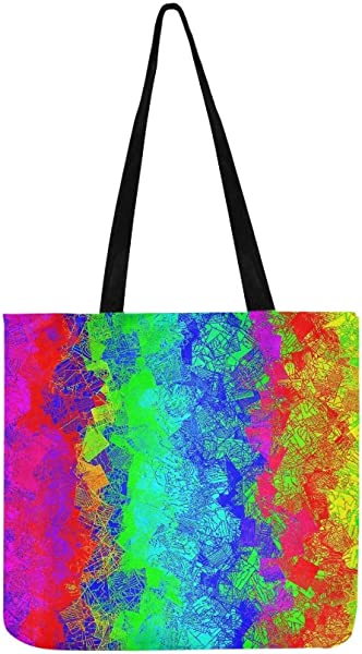 Sav On Bags >> Amazon Com Colors Screen Painted The Colour Of The Colorful Canvas