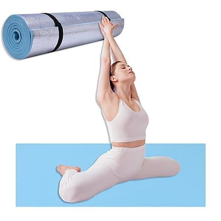 Esterilla de yoga de 6 mm de grosor, duradera, de goma EVA ...