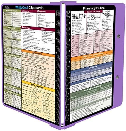 Whitecoat Clipboard- Lilac - Pharmacy Edition