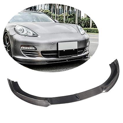 MCARCAR KIT Fits Porsche Panamera S Base Hatchback 2010 2012 2013 Pure Carbon Fiber Front Bumper