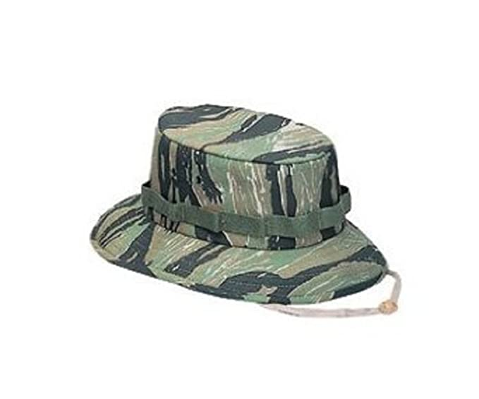 Amazon.com  5539 Tiger Stripe Jungle Hat (Large)  Military Apparel ... 34237980c55
