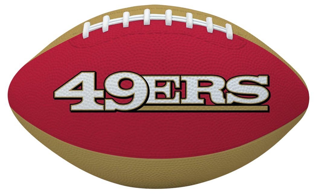 The Licensed Products Co. Baló n de fú tbol americano NFL SAN FRANCISCO 49ERS fú tbol 715099717264