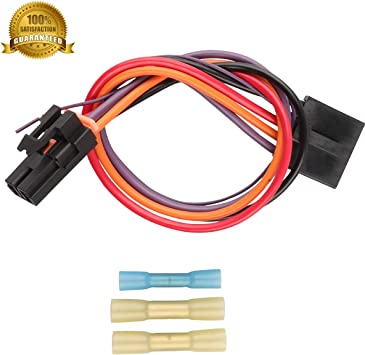 Amazon.com: 3 Pins 645-512 Wire Pigtail Blower Motor Resistor Wiring Harness  Connector 8e5h-19e624-a Blower Motor Plug Cable: AutomotiveAmazon.com