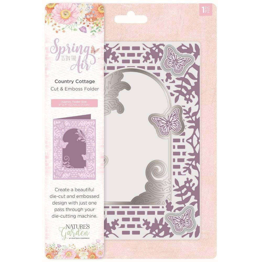 Nature's Garden Spring in The Air Collection - Cut & Emboss - Country Cottage