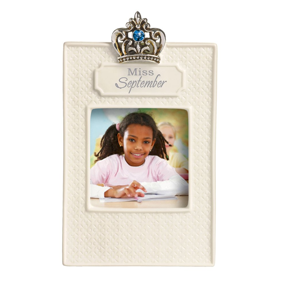 Miss September 2.5 by 2.5-Inch Grasslands Road Everyday Life Photo Frame