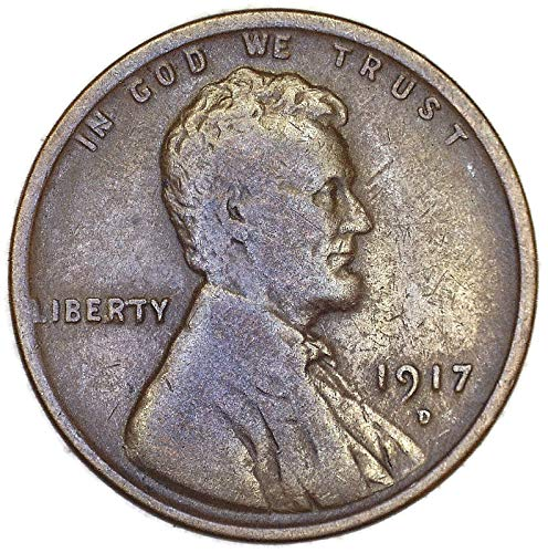 1917 D Lincoln Wheat Cent Good