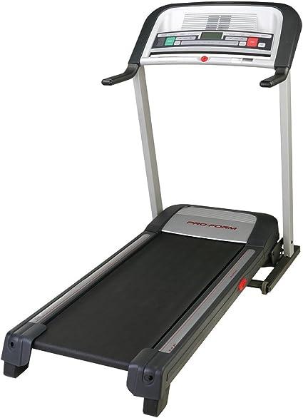 ProForm 400 zlt Treadmill Black Red,hwl 139x84x181 cm Plata/Negro ...