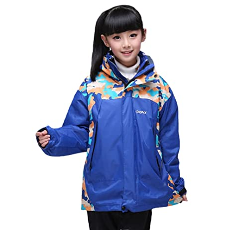 c61a0209f0ae Tortor 1bacha Kid Boy Girl 3-in-1 Interchange Ski Jacket Winter ...