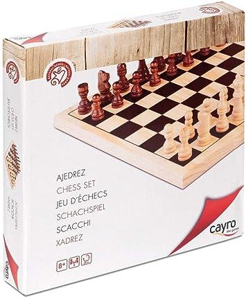 Cayro - Ajedrez de Madera — Juego de observación y lógica - Juego Mesa - Desarrollo de Habilidades cognitivas e inteligencias múltiples - Juego Tradicional (633): Amazon.es: Juguetes y juegos