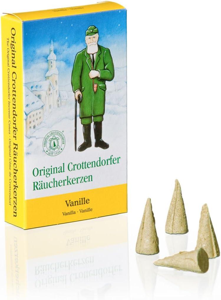 Crottendorfer 1016 Original - Conos de incienso (tamao M, 24 unidades), aroma a vainilla