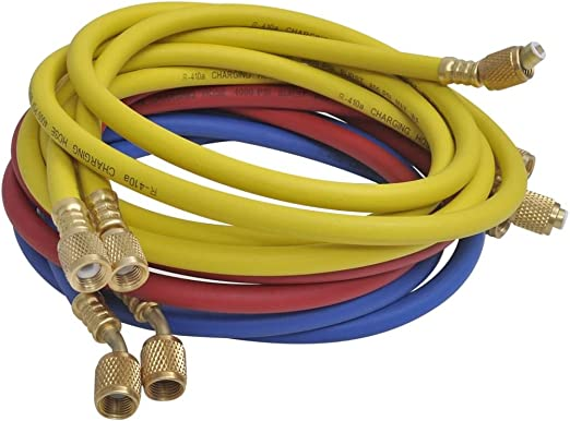 Vidaxl Monteurhilfe 4 Wege Mit 4 Schläuchen Klimaanlage R134 R410a R22 R407c Küche Haushalt
