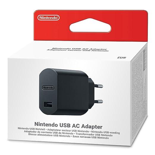 Adaptador de Corriente USB de Nintendo: Amazon.es: Videojuegos