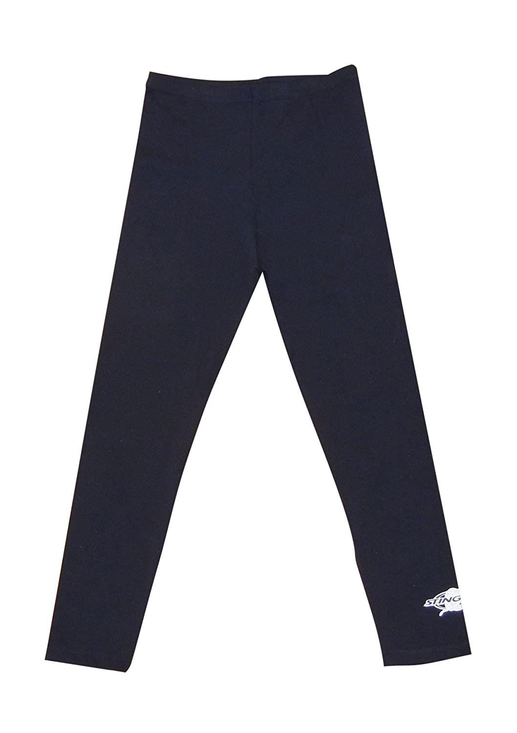 Stingray Black UV Sun Protective Swim Tights for Boys & Girls- Swim Pants - Sun Protection Swimming Leggings - sizes 4-14. (4) Stingray Australia