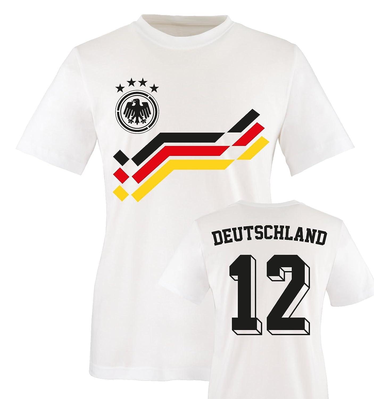 Kinder Fußball T-Shirt bedruckbar - WUNSCHNAME & NUMMER - WM / EM ...