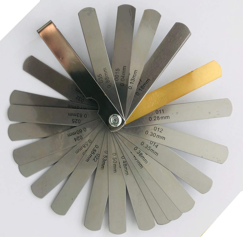 Precision Feeler Gauges 26PCS//Set