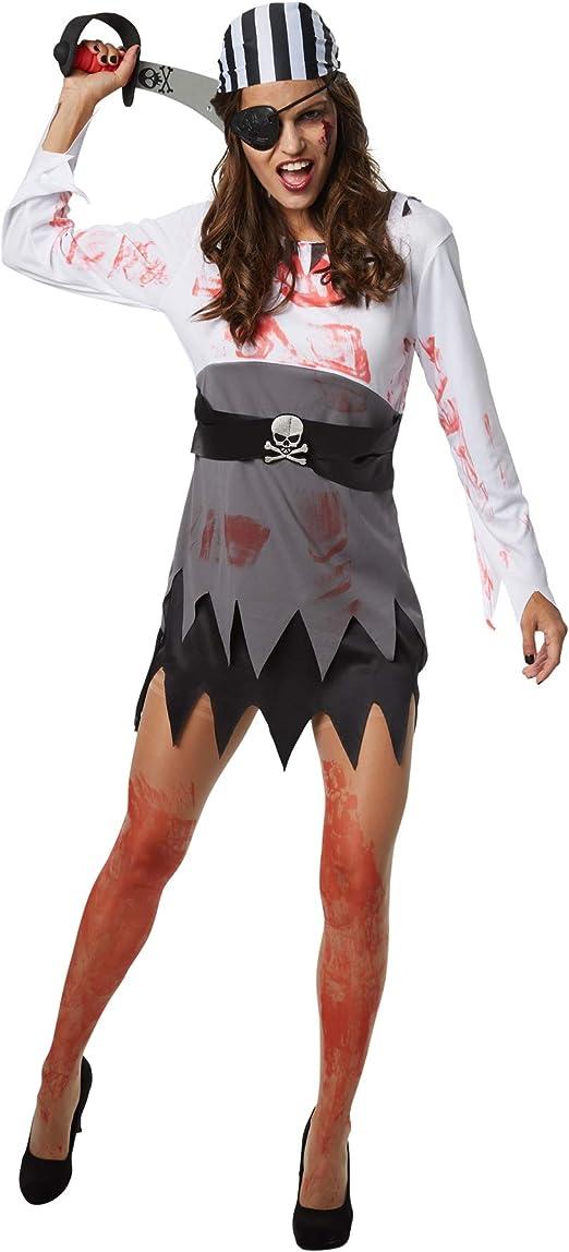 dressforfun 900438 - Disfraz de Mujer Bucanera horripilante ...