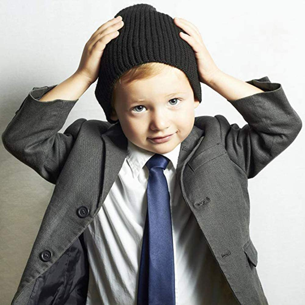 Beautiful Maple INWANZI Fashion Pre-Tied Elastic Necktie Boys Kids Baby Tie