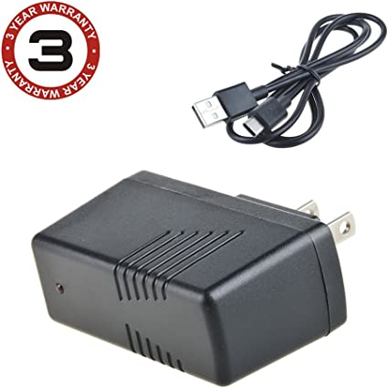 BC-75XLT 300-Channel Handheld Scanner Home Wall USB AC Power Adapter//Charger Replacement for Uniden Bearcat BC75XLT