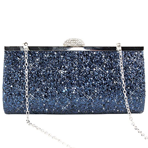 Wiwsi Evening Bags Wallet Clutch Woman Wedding Shiny Party Purse Handbag Crystal r67wr5qxn