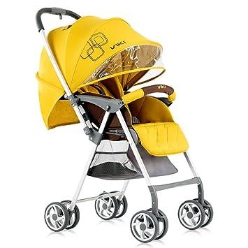 Amazon.com: YX - Cochecito plegable portátil para bebé, apto ...