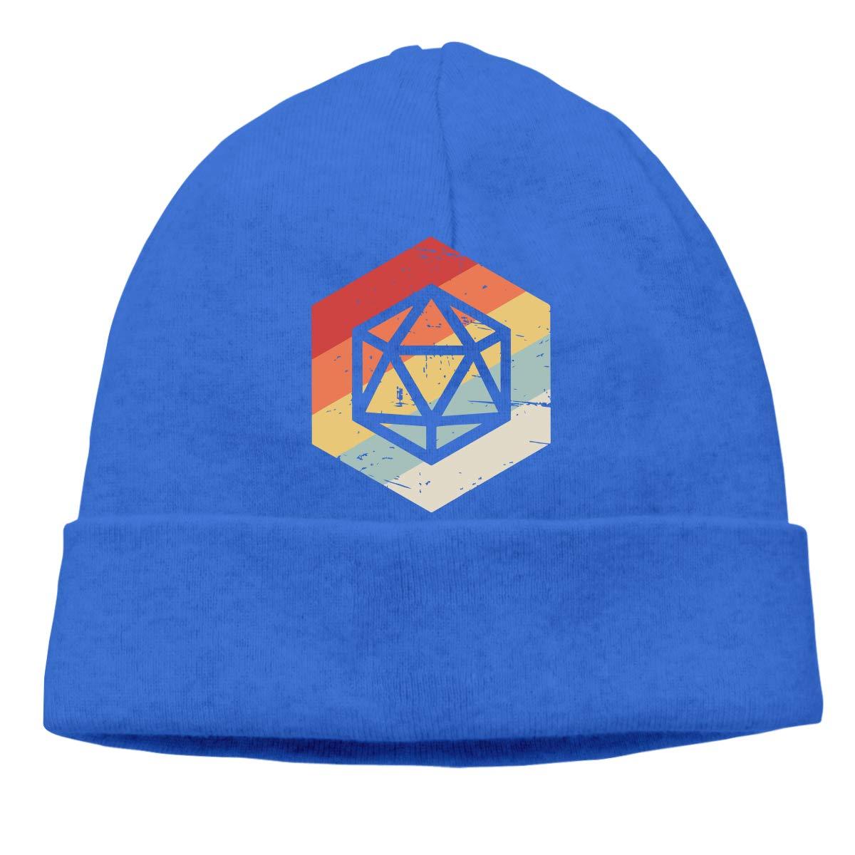 Unisex Retro Game Outdoor Warm Beanies Hat Soft Winter Skull Caps