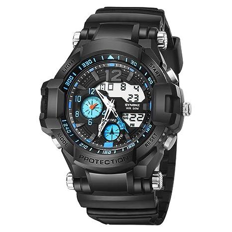 Y56 LED Sport Digital Reloj de Pulsera, Mode Outdoor Cuarzo Analog Watch Hombre Mujer Chica