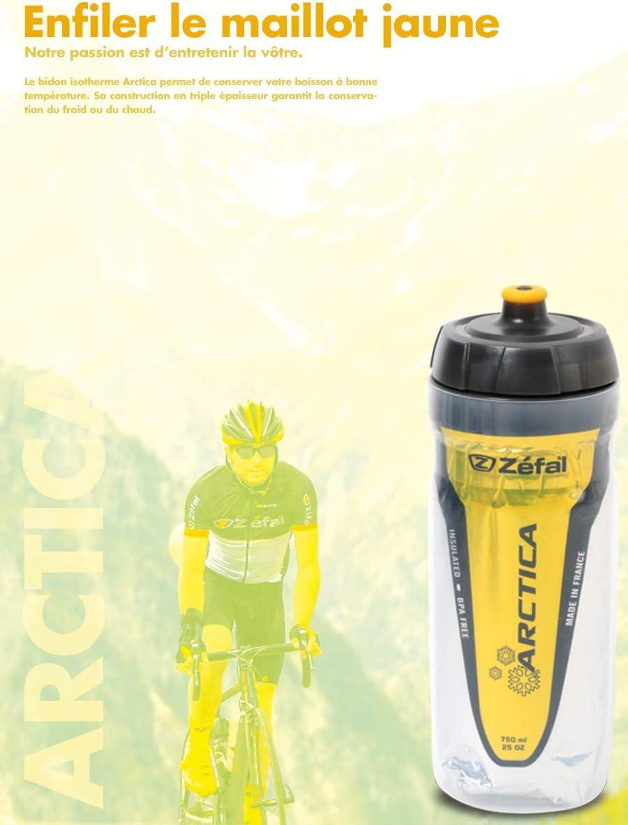 Zefal 165E, Arctica Bidón de ciclismo Isothermo, Unisex Adulto ...