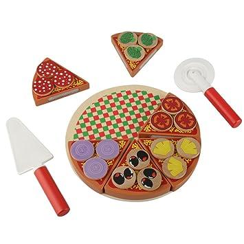 Juegos Corte Juego Simulación NiñosY SimuladosMadera AlimentosJuguetes Pizza Regalos Seguros Roles De Para TlK3uJ1Fc
