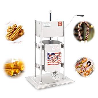 BAOSHISHAN Mochila Manual churro máquina eléctrica de acero ...