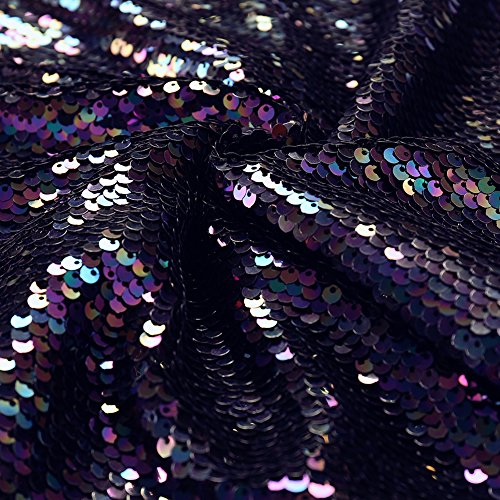de de noche mujer fiesta de lentejuelas Navy vestido FOLOBE la vestido Z4xF7qAw