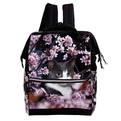 Gato Z41 Animal Cambio de mochila, bolsa de pañales para ...