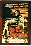 Bride of the Monster trading post card Movie Poster Collection 2007 Breygent #20 3x5 1955 Bela Lugosi Ed Wood