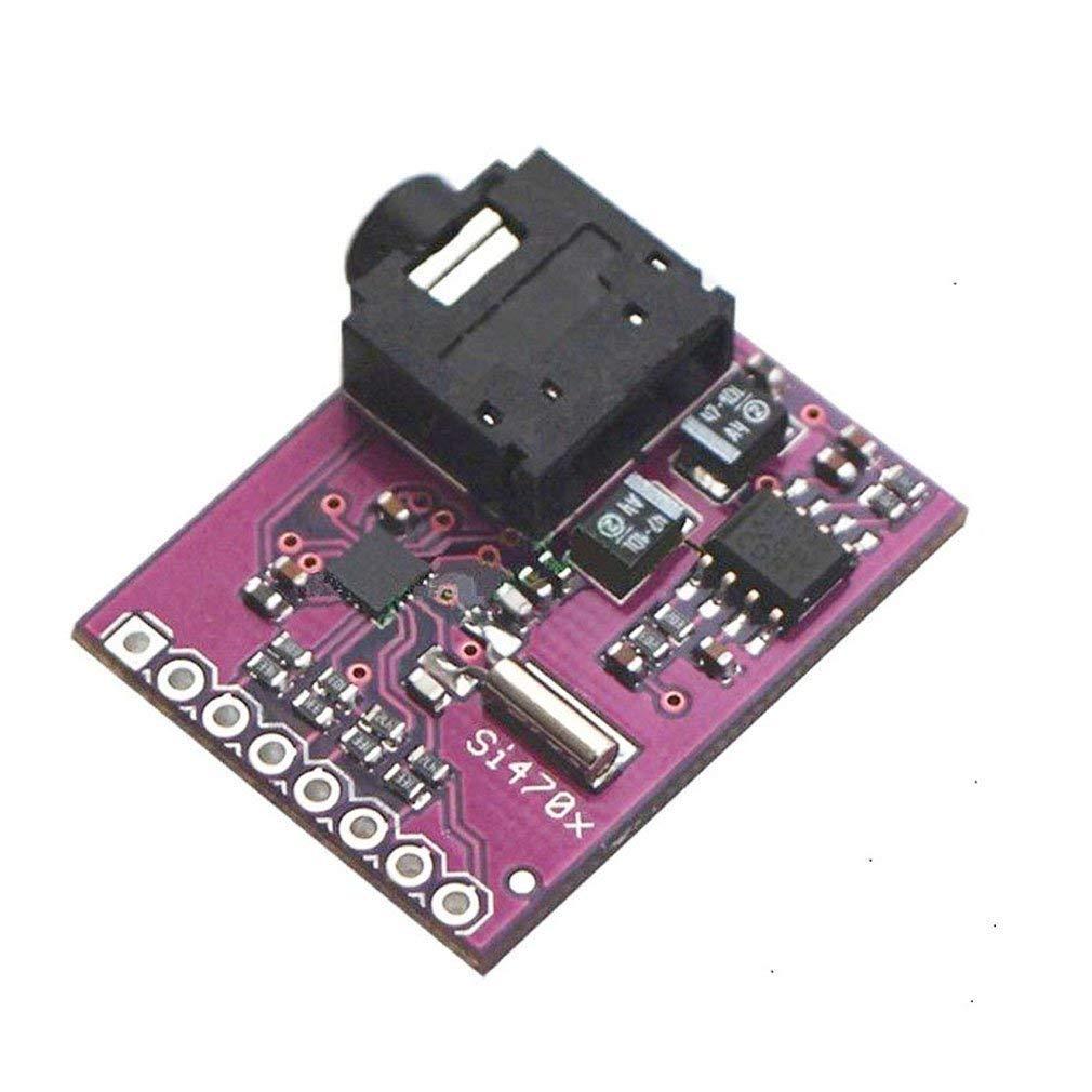 Si4703 RDS FM-Radio-Tuner f/ür Arduino AVR PIC ARM 2 St/ück HiLetgo/® Evaluation-Breakout-Platine