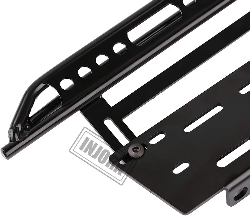 INJORA 2Pcs Metal Side Pedal Plate for 1//10 Axial SCX10 RC Crawler Car Parts