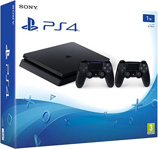 PlayStation 4 Slim (PS4) 1TB - Consola + 2 DualShock: Amazon.es ...