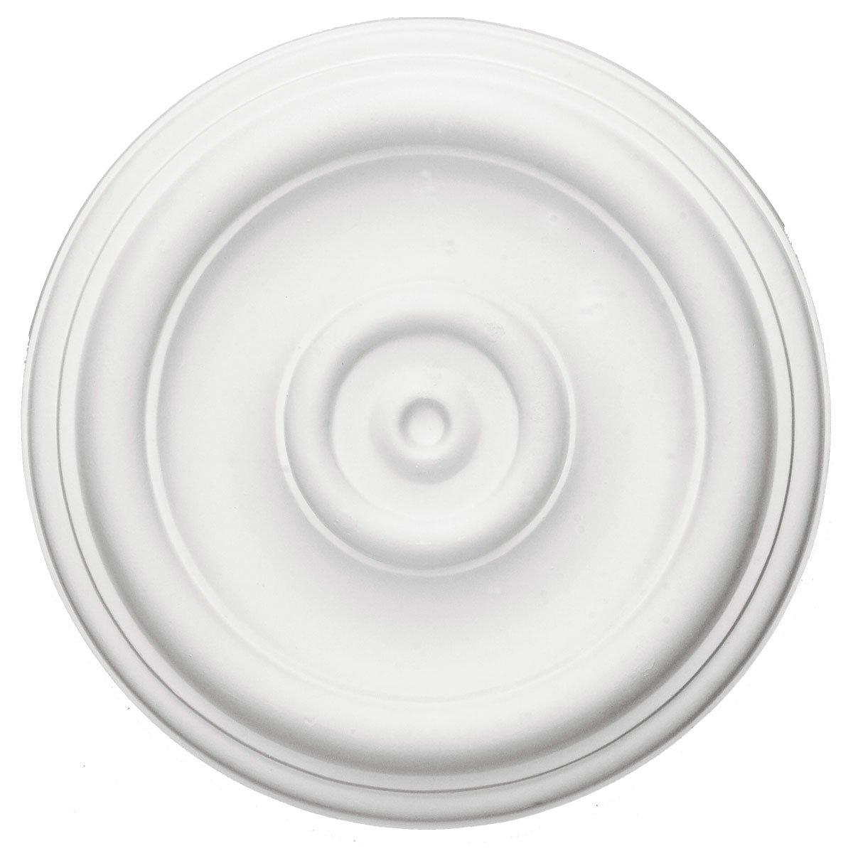 Ekena Millwork CM12TR 12 Inch OD x 3 Inch ID x 1 Inch Traditional Ceiling Medallion