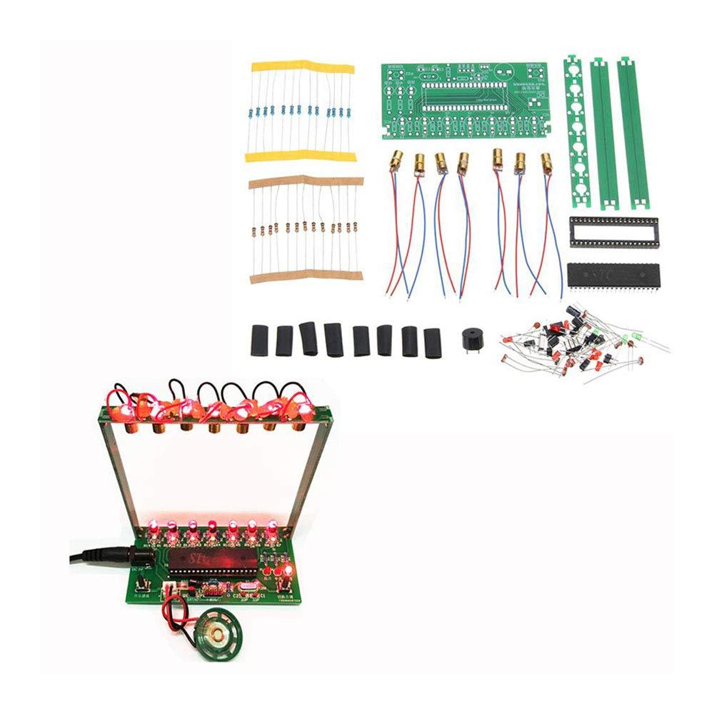 microordenador chip /único Caja de m/úsica electr/ónica para piano kit de arpa l/áser