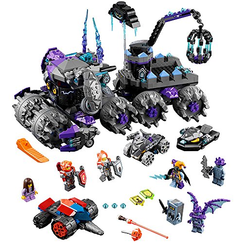 LEGO NEXO KNIGHTS Jestro's Headquarters 70352 Toy for Kids]()