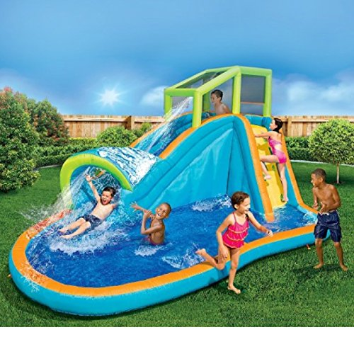 Spring and Summer Toys Banzai Aqua Pipeline Water Park Slide