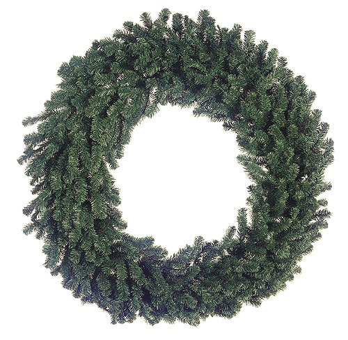 Allstate 60'' Deluxe Windsor Pine Artificial Christmas Wreath - Unlit by Allstate (Image #2)