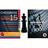 ChessBase 15 - Starter Package: ChessBase 15 Chess Database Management Software Program bundled with Big Database 2019 & ChessCentral's Chess King Flash Drive