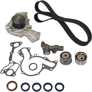 DNJ TBK126WP Timing Belt Kit Water Pump For 91-99 Dodge Mitsubishi 3.0L DOHC 24v